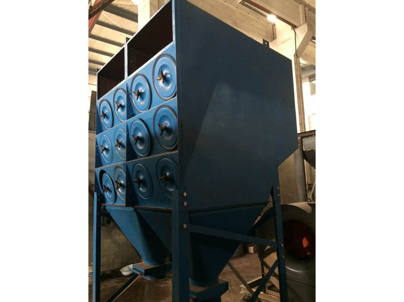 LMC-H斜插式滤筒除尘器